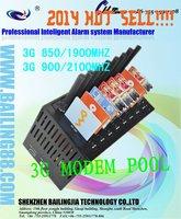 3G WCDMA 4 Ports Modem pool SL3010T, Modem Pool 900/2100mhz