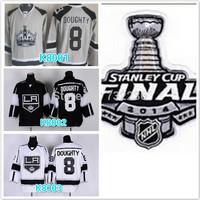 2014 Cheap stitched NHL LA/Los Angeles Kings #8 Drew Doughty stadium series ice hockey jersey/shirt/sportswear