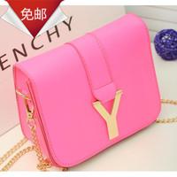 New Stylish Bag 2014 Sac a Main Candy Women Messenger Bag y letter Chain mini shoulder bag Fashion Brand Bolsos colcci