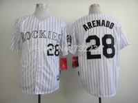 2014 cheap Colorado Rockies #28 Nolan Arenado Cool Base Men's Baseball Jersey Embroidery and Sewing Logos
