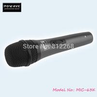 POWAVE DJ microphone MIC 63K hand-held microphones good quality Dynamic microphone