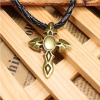 42 retro design cross shape diy necklace bracelet component  20pcs/lot 45*31MM  pendants alloy lucky Charms Jewelry Findings