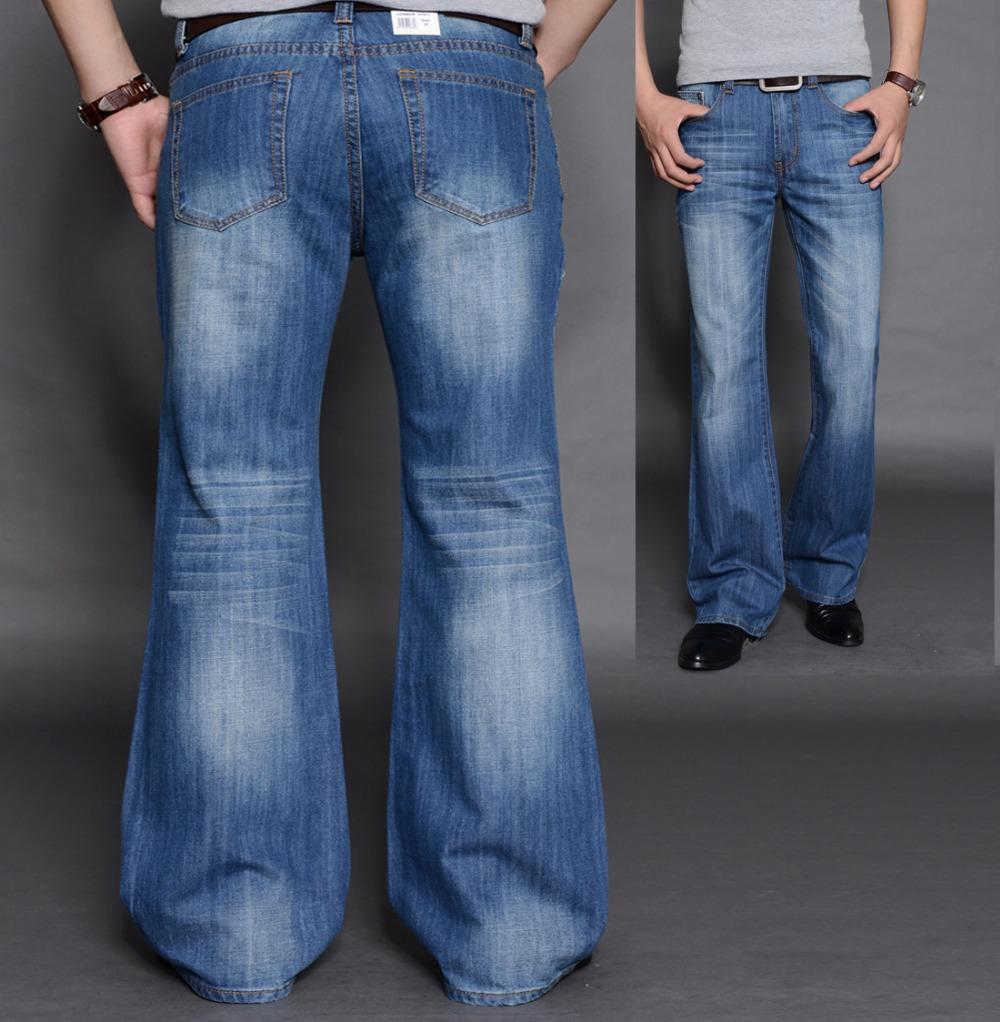bell bottom jeans for men - Jean Yu Beauty