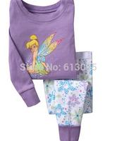 6pcs/lot,Wholesale boys girls casual homewear/ Pure Cotton long sleeve T-shirt+pant