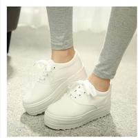 Floral Low Top Designs Lace Up Platform Canvas Shoes Women Sneaker euro35-40 size