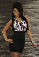 Hang a neck fashion dress sexy dresses silm skinny women dress clubwear