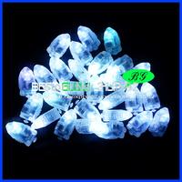 Free shipping 50pcs/lot 12inches white LED balloon lamp balloon light for paper lantern Wedding Decoration