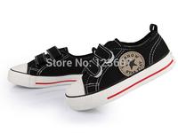 European size23-35 Boy girl Canvas Shoes kids Cute Leisure Sports Shoes Children Sneakers Board Shoe Rubber Bottom free shipping