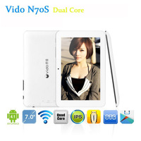 Free Shipping Newest Cheapest Yuandao N70S VIDO N70S 7inch RK3026 Dual Core Android 4.2 1024*600 8GB Webcam WIFI Tablet Pc
