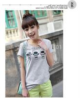 Casual fashion short sleeve shirt blouses students loaded wild Amoi 2014 new little man t-shirt B641-6519