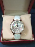 Fashion brand white bracelet bangle watches for women, white watches for women bracelet watches for women woman Brand Logo