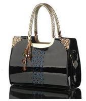 New 2014 Genuine Patent Leather Women Handbags Fashion Women Messenger Bags Brand Totes Designs Clutch Bag Women Shoulder Bags