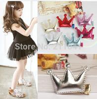 Wholesale 24PCS New Vintage Korea Cute Little Girl series MINI PU hair clip/baby/infant Hair Pins/Hair Accessories PHC-0186