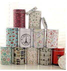 5pcs/lot!Creative Japanese Zakka sealed cans, Tin Box, portable Mini Candy Box Accessories,Wholesale Storage Decorative Boxes(China (Mainland))