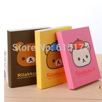 3pcs Wholesale Korean Stationery Japaneser Style Kawaii Cute Paper Rilakkuma Notebooks & Writing Pads Office & School Supplies