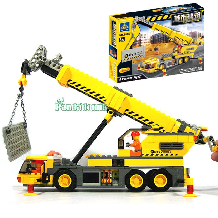Lego City Mobile Crane Lego City 380 Pcs Crane
