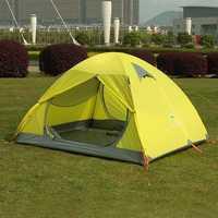 3 People aluminum pole  outdoor tent camping  leisure tent rain Caulking HY133
