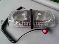 White 240 LED Car Truck Emergency Beacon Light Bar Hazard Strobe Warning Lamp