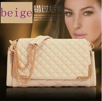 New 2014 chain female fashion diamond square shoulder bag fashion women handbag