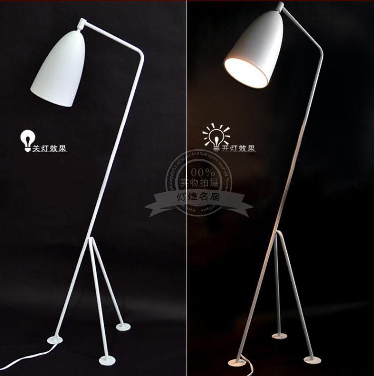 Wrought iron floor lamp modern minimalist creative arts tripod floor lamp ikea style designer - Tripod lamp ikea ...