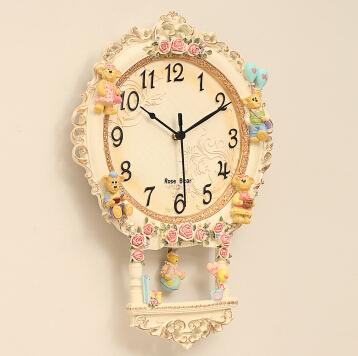 Wall clocks resin wall clock watch pocket watch Cubs(China (Mainland))