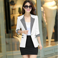Blaser Sale Hot Sale Women Suits Small Suit Jacket Women 2014 Autumn Paragraph Korean Version of Slim Ladies Suits free Shipping