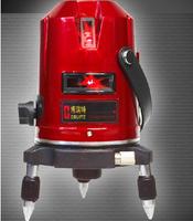 Hot sale 5 lines 3 points Cross line laser,laser level,Professional laser line level rotary laser level ,EK-452DP Free Shipping!