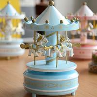 Romantic style carousel music box musical gifts Laputa explosion models Clockwork Type