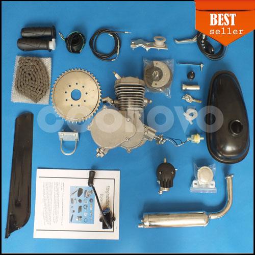 Motorisierte fahrrad benzin gas fahrrad motor 80cc 2-takt Zyklus motor-kit