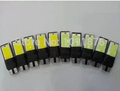 Versandkostenfrei 10pcs/lot t10 cob 6w high power led leuchtet tagfahrlicht w5w t10 cob led