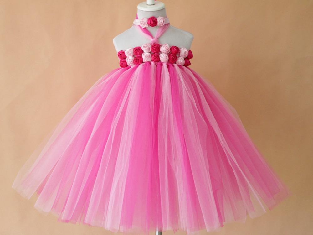 Diy Tulle Tutu Flower Girl Dress 20