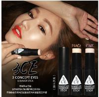 Makeup Highlighters High Quality MoistureSpecular Bronzers Shimmer Concealer Stick Face Makeup Highlighter Creamy stick