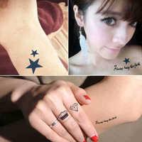 15 different  kinds free shipping Temporary tattoo body art Angel wings star tattoo Waterproof tattoo sticker man Women tattoo