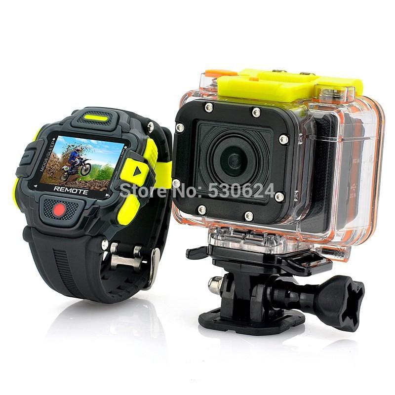 G8900 Full HD Action Camera Eyeshot Wi-Fi Watch Remote Control 1920x1080p Ultra Wide 145 Degree Lens Sport DVR 60M waterproof(China (Mainland))