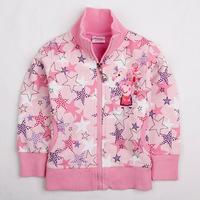 New 2014 children outerwear, Peppa Pig girl coat,pentagram character,Wu children clothing,free shipping