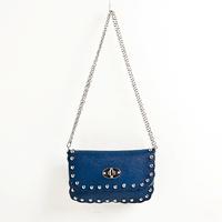 2014 Candy Color Sac for Fashion Women Messenger Bag Rivet Chain Bag Mini Lady Shoulder Crossbody Satchel Bag Cheap Handbag girl