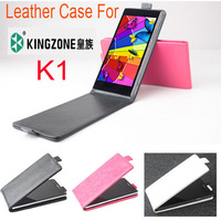 High Quality Baiwei Flip Vertical UP-Down Business Luxury PU Leather Case for Kingzone K1 Smart Phone Black White Rose