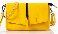 Promotion messenger bag high quality genuine leather handbag with strap candy shoulder bag fashion designe clutch bag 5 colors