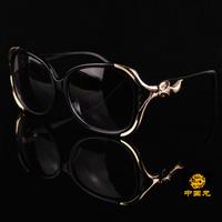 High-end fashion new luxury model fox head diamond fashion wild personality sunglasses women's Anti-UVA Anti-UVB sunglasses