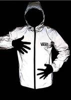 14 New Night reflective male 3m luminous outdoor jacket bicycle windbreaker men's outdoor coat  cycling equipment