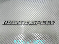 mazdaspeed rear sticker emblem letters for Mazda 2 3 5 6 8 coupe automobile race car logo badge