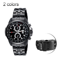 New 2014 CURREN SPORT QUARTZ Military WATCHES STAINLESS STEEL AUTO DATE relogio  military watches clock casual quartz men watch