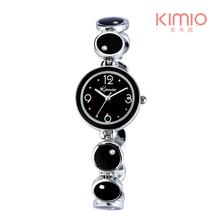 3ATM Water Resistant!! KIMIO Women's Ceramic Bracelet Watches MIYOTA 2035 Japan Movt,12-month Guarantee(China (Mainland))