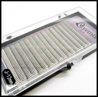 High Qualtiy J Curl Mink Y Eyelash Extension 4 sizes/lot Soft Lenght 8mm/10mm/12mm/14mm  0.12 thickness Makeup Tool