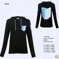shingeki no kyojin attack on titan jacket 100% cotton fashion Pullover sweater hoodies Sweatshirt cosplay anime cosplay costume