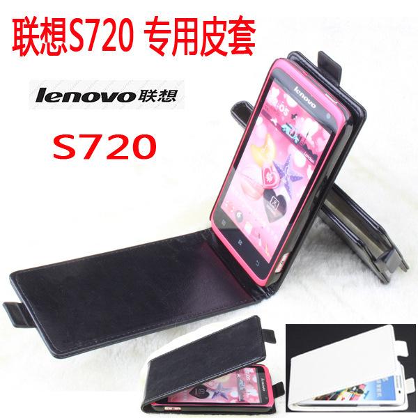 Чехол для Lenovo S720 полиуретан, s720 роскошь кожа открытая вверх и пуховик черный белый розовый цвет смартфон lenovo s720 pink