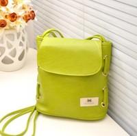 New Promotion Fashion Vintage Pu Leather Women Messenger Bags Preppy Style School Bag  Women Shoulder Handbag  Wholesale Drop