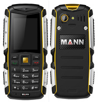 2014 New ip67 waterproof rugged phone Original Mann ZUG S long standby Military outdoor phone ZUGS ROHS approved gold yellow