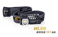 Free shipping Fenix HL50 XM - L2 CR123A/AA strong multi-purpose bald head lamp The flashlight