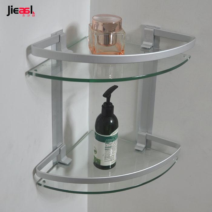 Estantes para ba o vidrio - Estanterias de cristal para banos ...
